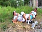 Racaille homo sniffeur de chaussettes