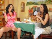 Fourchette et double gode