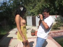 Shooting photo d'une latina chaude comme la braise