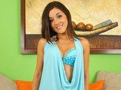 Oksana la jolie sirène bleu à croquer