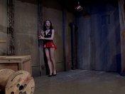 Sadomasochistic training in a cellar