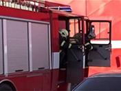 Brigade de pompiers bien chauds de la raie