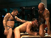 sexe Gros muscles et grosses bites