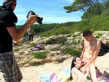 La plage des salopes en manque de teub