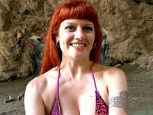 2 couples tatoués, 1 grotte taguée, plein de possibilités
