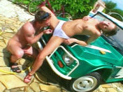 Michaela May, bum-fucked on the car! xxx video