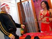 Babbo Natale perfora il culo di Mamma Natale