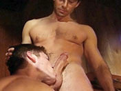 Partouze gay dans un sous-sol