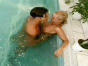 Young slut fucked in the swimming pool sex video