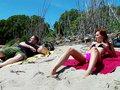 Susana la porn model de plage qu'on trombine dans une décharge