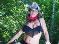 Cowgirl démontée par 2 teubs