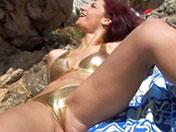 Yara se fait niquer sur une falaise