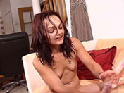Alicya crams with a cumshot