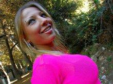 Alexia la blonde fatale qui adore se faire enculer