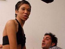 Jorge défonce le cul d'une blackette