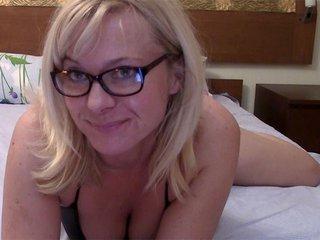 Video porno Georgia la blonde webcameuse à lunette