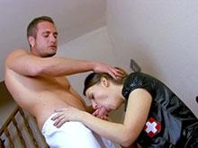 Infirmière bien salope pour infirmier bien monté
