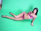 Adult Movies Kristina's disco striptease