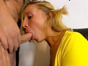 Blonde with a very obedient asshole