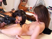 Dunia e Laura, due troie in azione