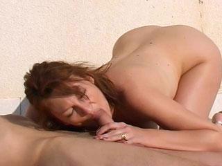 Sodomia en una terrasa para Anastasia Kass
