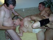 Tigra during a threesome with Atila and a fan