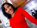 Dolce Elektra se fait darder dans la cuisine