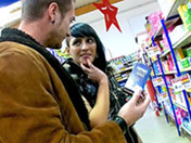 Rencontrée au supermarché baisée dans un squate