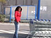 Salope de supermarché se fait sauter dans une ruine