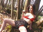Flashing in the forest xxx videos