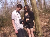 Morgane wildly screwed in the forest adult video