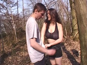 Morgane wildly screwed in the forest xxx video
