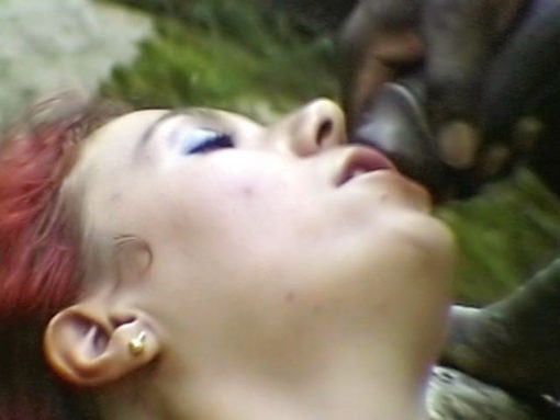 Joachim Kessef bum-fucks a red-haired slut in the forest!