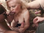 Two older wenches in an orgy xxx videos