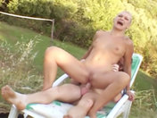 Gang-bang under the sun with Manuel Ferrara! xxx video