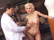 Nasty old wench gets gang banged sex video