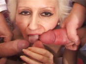 Nasty old wench gets gang banged xxx videos
