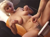 Nasty old wench gets gang banged xxx video