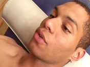 Massage& Fuck Session for a Blonde and a Black gay porn videos