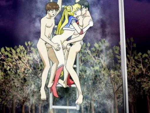 Sailor and the 7 ballz 2 (part2 - hentai parodique) video sexe