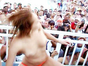 Drunk sex bombs doing a striptease! adult video