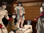 Samurai Fantasy part 1: Animated deflower gay porn video