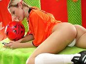 Hollandaise fan de sexe et de foot !!! x video
