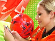 Hollandaise fan de sexe et de foot !!!