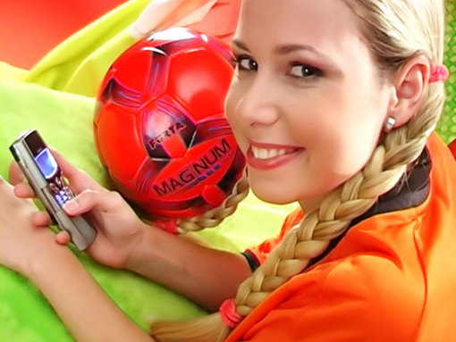 Hollandaise fan de sexe et de foot !!! video sexe