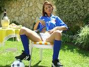 Tifosa Italiana in solo !!! video xxx