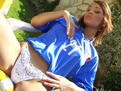 Supportrice Italienne en solo !!! sexe video