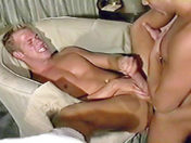 Loads of cock threesome! gay porn videos