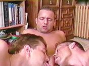 Trois hommes et un jardin porno video gay