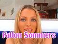 Gorge profonde, baise et Ejac pour Fallon Summers !